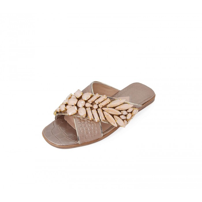 M Shoes - Nacre Champagne