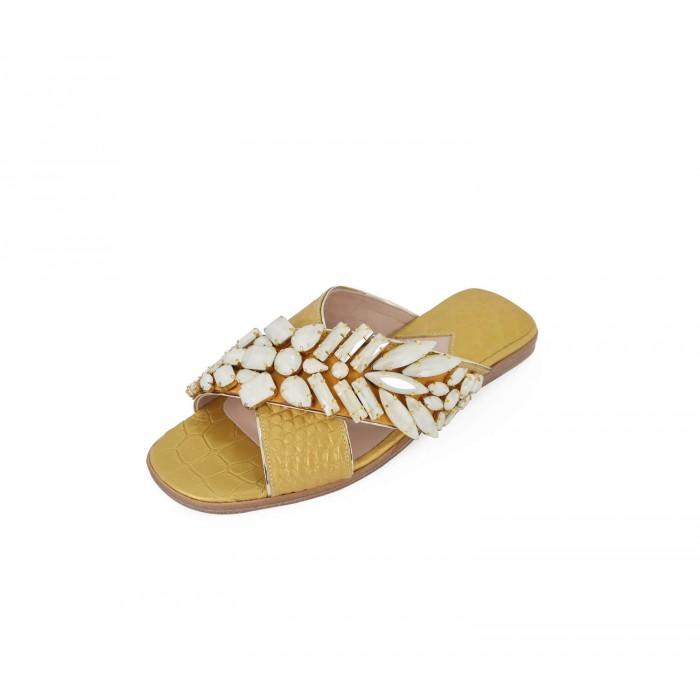 M Shoes - Nacre Gold