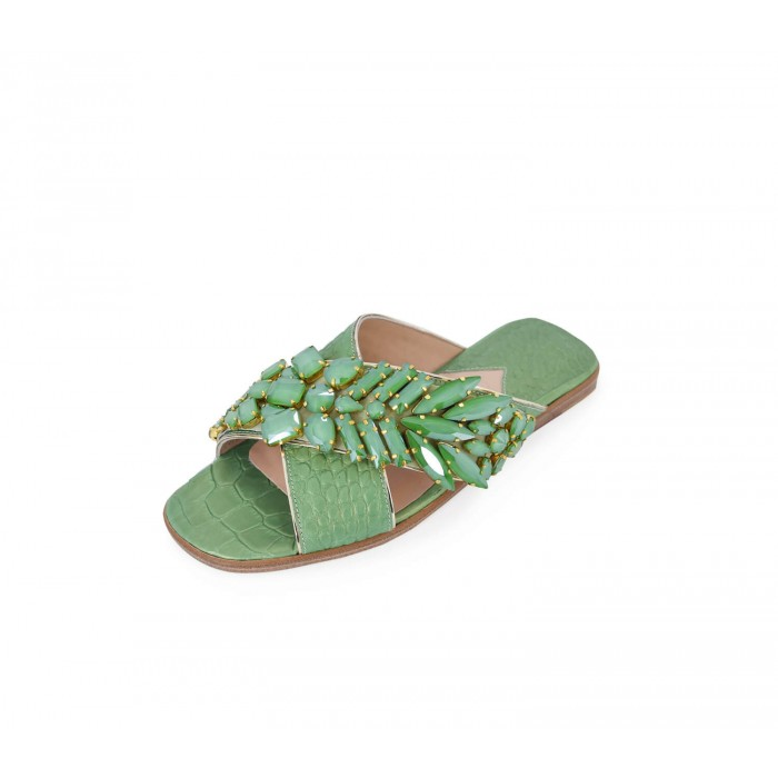 M Shoes - Nacre Green