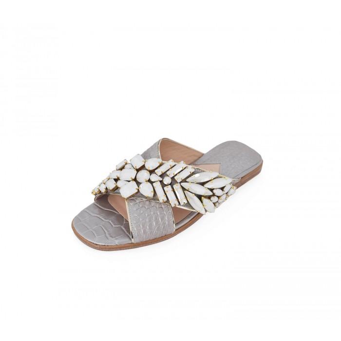 M Shoes - Nacre Silver