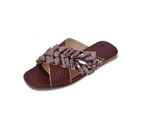 M Shoes - Nacre Burgundy