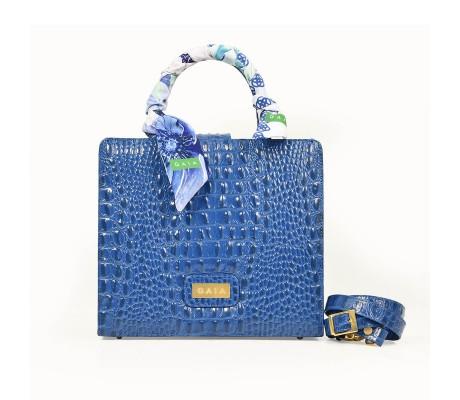 Midi Shiny: Blue Gitane