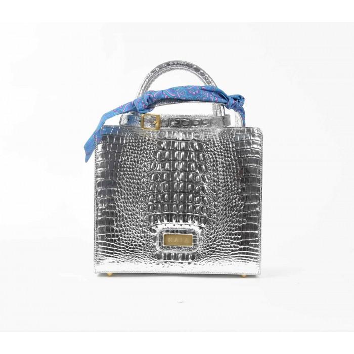 Midi Metallic: Silver