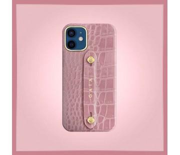 iPhone 12 Mini - Croco Dusty Pink