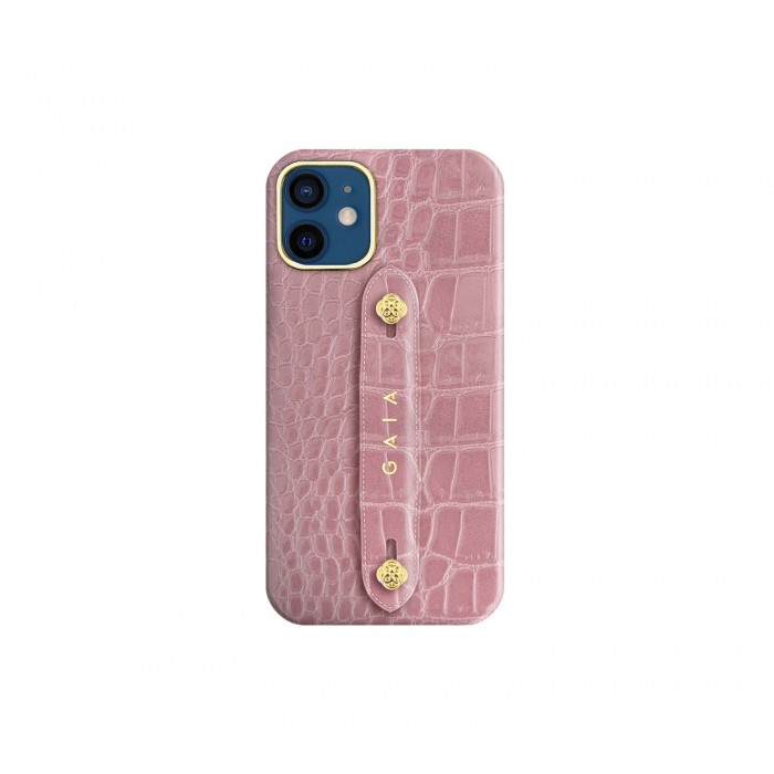 12 Mini - Croco Dusty Pink