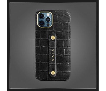 iPhone 12 Pro - Croco Black