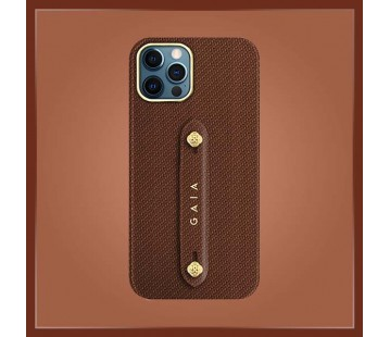 iPhone 12 Pro - Woven Brown