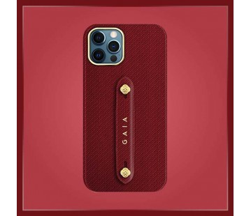 iPhone 12 Pro - Woven Red