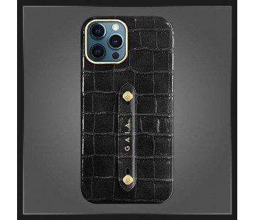 iPhone 12 Promax - Croco Black