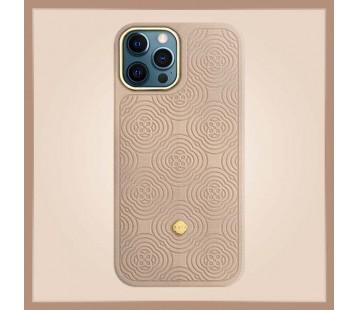 iPhone 12 Promax - Debossing Gold