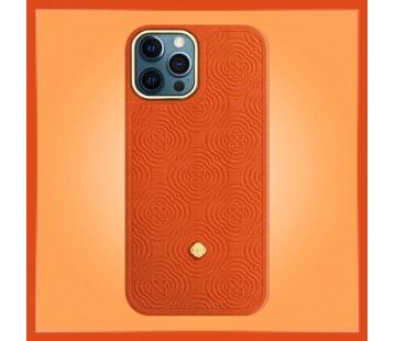 iPhone 12 Promax - Debossing Orange