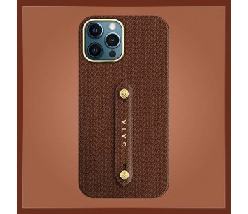 iPhone 12 Promax - Woven Brown