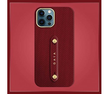 iPhone 12 Promax - Woven Red