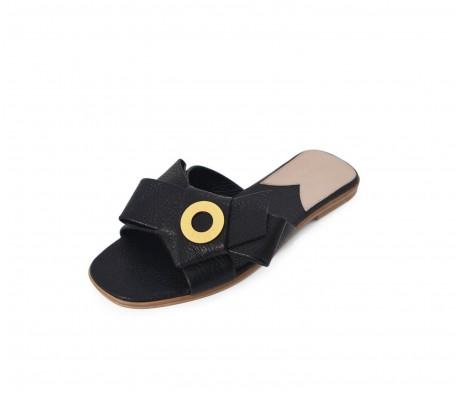 Napolian Shoes Flats - Black