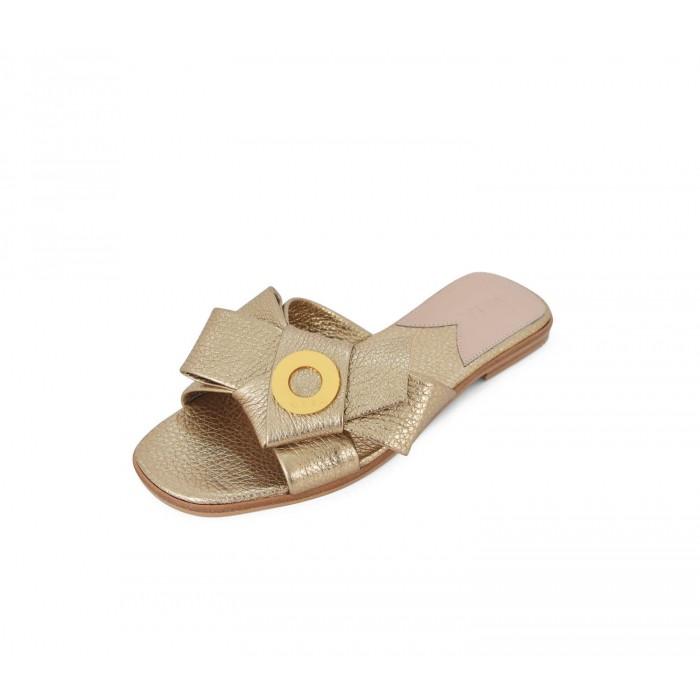 Napolian Shoes Flats - Oro