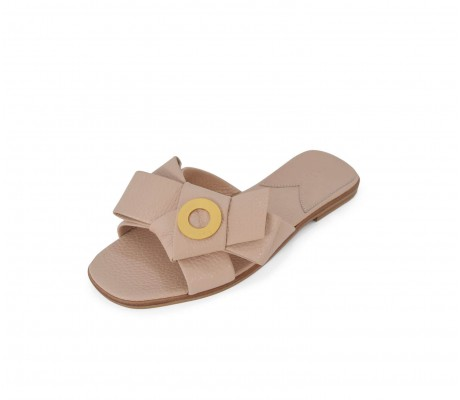 Napolian Shoes Flats - Nude