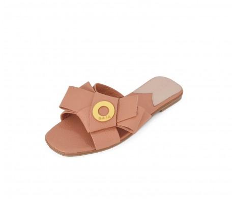 Napolian Shoes Flats - Salmon
