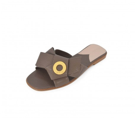 Napolian Shoes Flats - Taupe