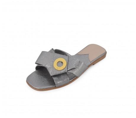 Napolian Shoes Flats - Titanio