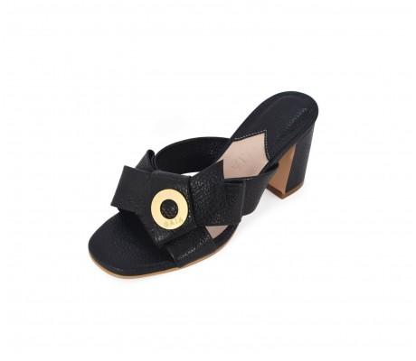 Napolian Shoes Heels - Black