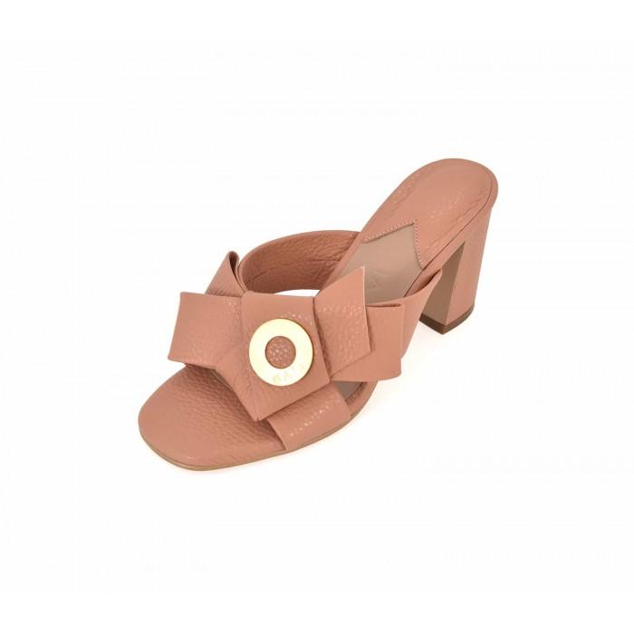 Napolian Shoes Heels - Salmon
