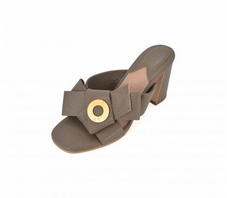 Napolian Shoes Heels - Taupe