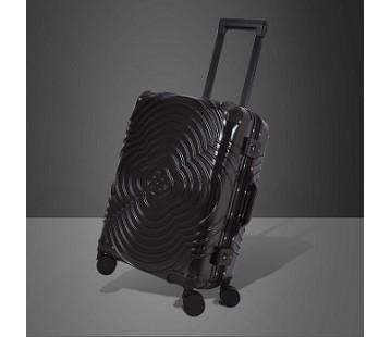 Metallic Black Suitcase