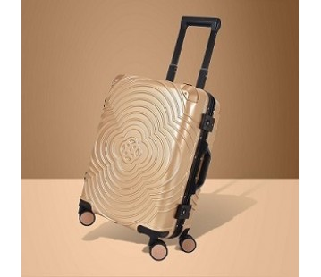 Metallic Gold Suitcase