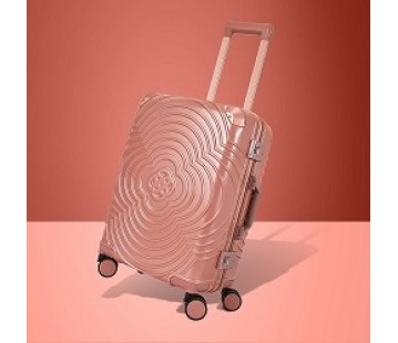 Metallic Pink Suitcase