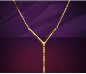 Necklace Wrist - V shape