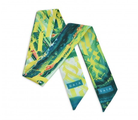 Scarf Paint - Green