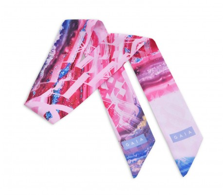 Scarf Paint - Pink