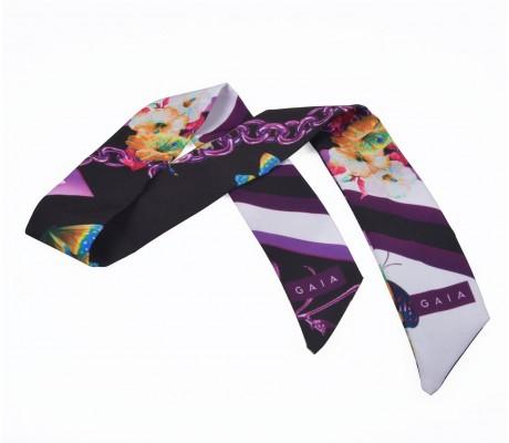 Scarf Chain - Purple
