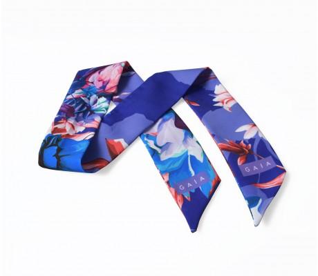 Scarf Floral - Blue