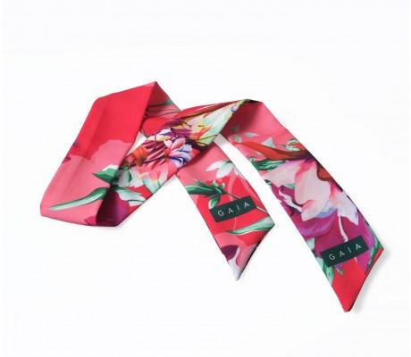 Scarf Floral - Fuchsia