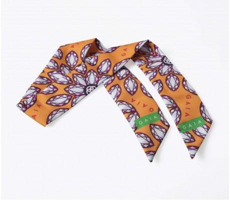 Scarf Gems - Orange