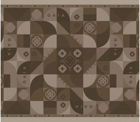 Multi Monogram Brown