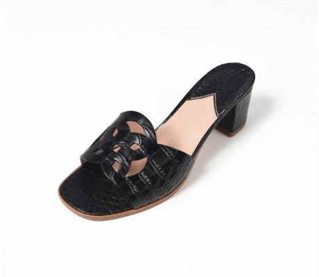 Emblem Heels CRC Black