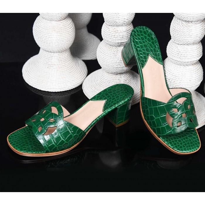 Emblem Heels CRC Green