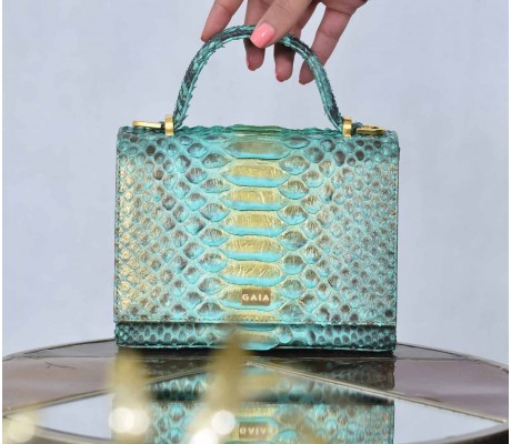 The Sicilian Light Turquoise and Gold