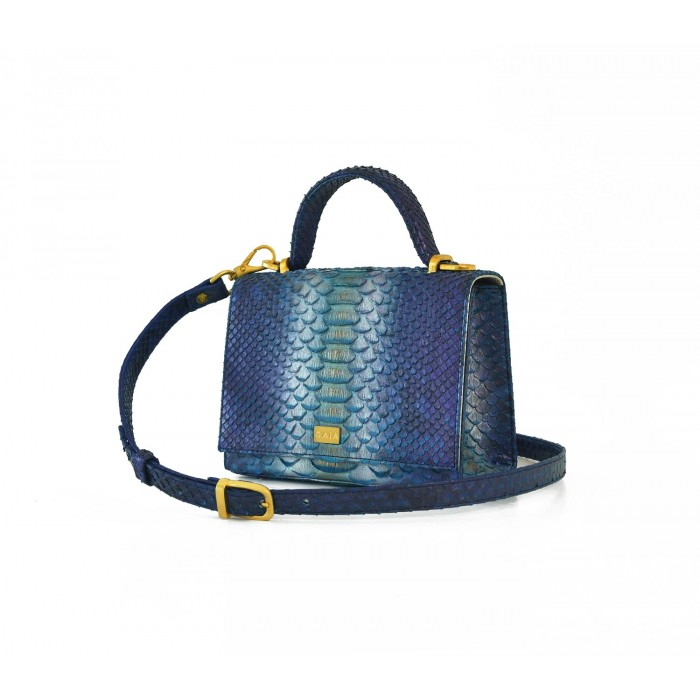 The Sicilian Navy Blue and Silver